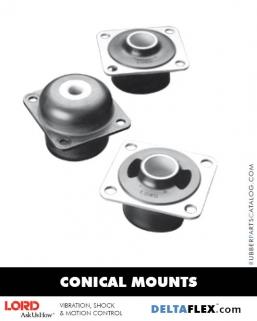 Rubber-Parts-Catalog-Delta-Flex-LORD-Corporation-Conical-Mount