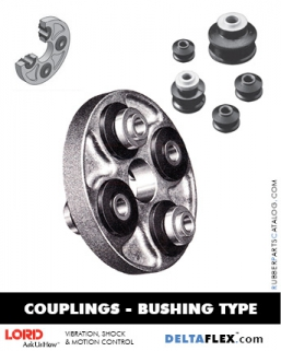 Rubber-Parts-Catalog-Delta-Flex-LORD-DYNAFLEX-Coupling-Bushing-Type
