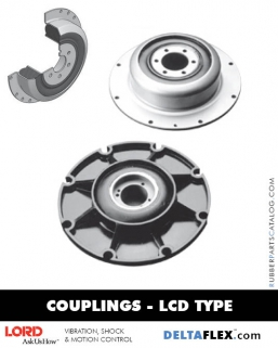 Rubber-Parts-Catalog-Delta-Flex-LORD-DYNAFLEX-Coupling-LCD-Type