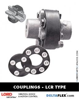 Rubber-Parts-Catalog-Delta-Flex-LORD-DYNAFLEX-Diveline-Coupling-LCR-Type