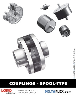 Rubber-Parts-Catalog-Delta-Flex-LORD-DYNAFLEX-Coupling-Spool-Type
