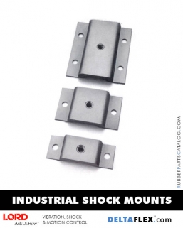 Rubber-Parts-Catalog-Delta-Flex-LORD-Corporation-Machinery-Mounts-Industrial-Shock-Mounts