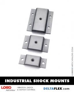 Rubber-Parts-Catalog-Delta-Flex-LORD-Corporation-Machinery-Mounts-Industrial-Shock-Mounts