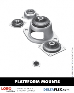 Rubber-Parts-Catalog-Delta-Flex-LORD-Plateform-Mount