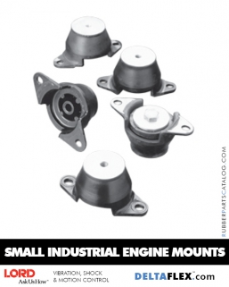Rubber-Parts-Catalog-Delta-Flex-LORD-Small Industrial-Engine-Mounts