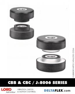Rubber-Parts-Catalog-Delta-Flex-LORD-Two-Piece-Mounts-CBB-CBC-J-8006-Series-figure