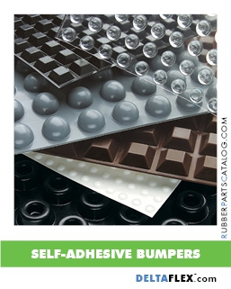 Rubber-Parts-Catalog-Delta-Flex-self-adhesive-Polyurethane-Bumpers