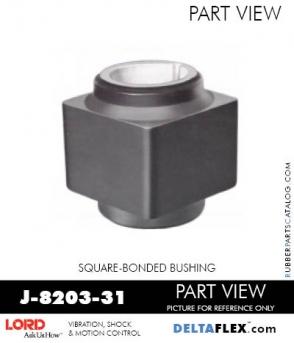 Rubber Bushing J-8203-31