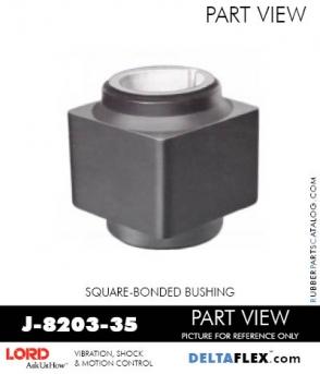 J-8203-35 Rubber Bushing