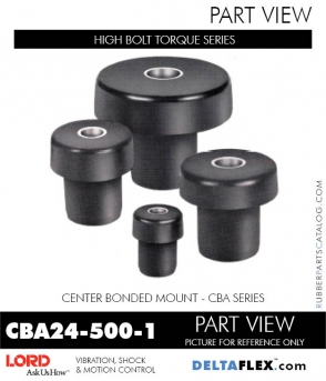 Rubber-Parts-Catalog-Delta-Flex-LORD-Corporation-Vibration-Control-Center-Bonded-Mounts-CBA24-500-1