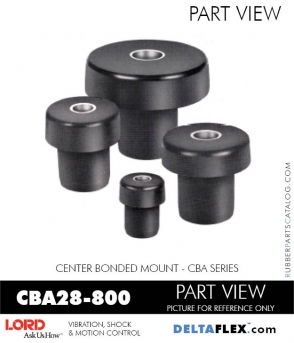 Rubber-Parts-Catalog-Delta-Flex-LORD-Corporation-Vibration-Control-Center-Bonded-Mounts-CBA28-800
