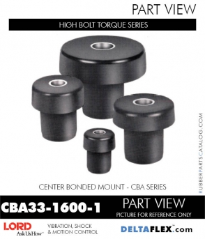 Rubber-Parts-Catalog-Delta-Flex-LORD-Corporation-Vibration-Control-Center-Bonded-Mounts-CBA33-1600-1