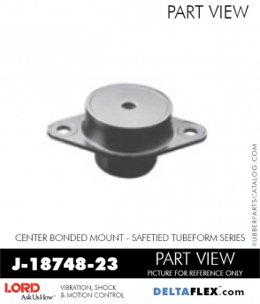 Rubber-Parts-Catalog-Delta-Flex-LORD-Corporation-Vibration-Control-Center-Bonded-Mounts-J-18748-23