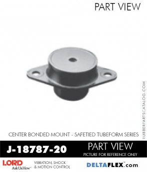 Rubber-Parts-Catalog-Delta-Flex-LORD-Corporation-Vibration-Control-Center-Bonded-Mounts-J-18787-20