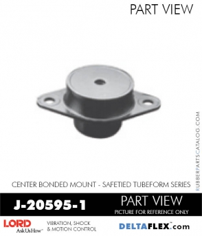 Rubber-Parts-Catalog-Delta-Flex-LORD-Corporation-Vibration-Control-Center-Bonded-Mounts-J-20595-1