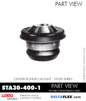 Rubber-Parts-Catalog-Delta-Flex-LORD-Corporation-Vibration-Control-Center-Bonded-Mounts-STA30-400-1