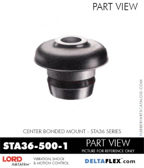 Rubber-Parts-Catalog-Delta-Flex-LORD-Corporation-Vibration-Control-Center-Bonded-Mounts-STA36-500-1