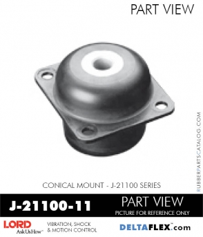 Rubber-Parts-Catalog-Delta-Flex-LORD-Corporation-Conical-Mount-J-21100-11