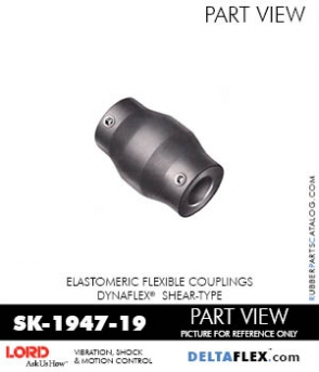 RUBBER-PARTS-CATALOG-DELTAFLEX-Vibration-Isolator-LORD-Dynaflex-Shear-Type-Couplings -Coupling-SK-1947-19