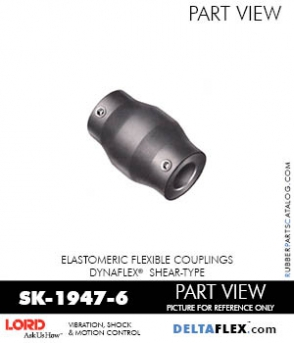 RUBBER-PARTS-CATALOG-DELTAFLEX-Vibration-Isolator-LORD-Dynaflex-Shear-Type-Couplings -Coupling-SK-1947-6