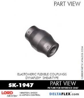 RUBBER-PARTS-CATALOG-DELTAFLEX-Vibration-Isolator-LORD-Dynaflex-Shear-Type-Couplings -Coupling-SK-1947