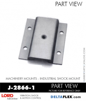 RUBBER-PARTS-CATALOG-DELTA-FLEX-LORD-CORPORATION-VIBRATION-ISOLATER-Machinery-Mounts-LATTICE-MOUNT-RUBBER-PARTS-CATALOG-DELTA-FLEX-LORD-CORPORATION-VIBRATION-ISOLATER-Machinery-Mounts-Industrial-Shock-Equipment-MOUNT-J-2866-1