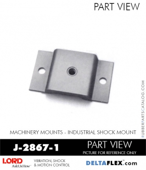 RUBBER-PARTS-CATALOG-DELTA-FLEX-LORD-CORPORATION-VIBRATION-ISOLATER-Machinery-Mounts-LATTICE-MOUNT-RUBBER-PARTS-CATALOG-DELTA-FLEX-LORD-CORPORATION-VIBRATION-ISOLATER-Machinery-Mounts-Industrial-Shock-Equipment-MOUNT-J-2867-1