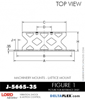 RUBBER-PARTS-CATALOG-DELTA-FLEX-LORD-CORPORATION-VIBRATION-ISOLATER-Machinery-Mounts-LATTICE-MOUNT-RUBBER-PARTS-CATALOG-DELTA-FLEX-LORD-CORPORATION-VIBRATION-ISOLATER-Machinery-Mounts-LATTICE-MOUNT-J-5665-35