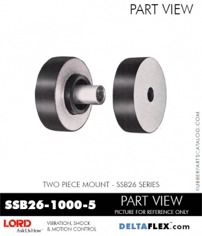 Rubber-Parts-Catalog-Delta-Flex-LORD-Corporation-Two-Piece-Mount-SSB26-1000-5