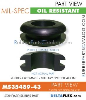 MS35489-43   Rubber Grommet   Mil-Spec