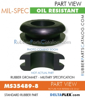 Rubber Grommet | Mil-Spec - MS35489-8