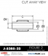 Rubber-Parts-Catalog-Delta-Flex-LORD-Bushings-Center-Bonded-Bushings-J-5385-32