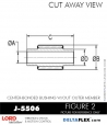 Rubber-Parts-Catalog-Delta-Flex-LORD-Bushings-Center-Bonded-Bushings-J-5506