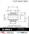 Rubber-Parts-Catalog-Delta-Flex-LORD-Corporation-Vibration-Control-Center-Bonded-Mounts-H-3002-1