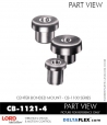 Rubber-Parts-Catalog-Delta-Flex-LORD-Corporation-Vibration-Control-Center-Bonded-Mounts-CB-1121-4