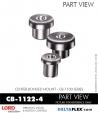 Rubber-Parts-Catalog-Delta-Flex-LORD-Corporation-Vibration-Control-Center-Bonded-Mounts-CB-1122-4