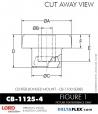 Rubber-Parts-Catalog-Delta-Flex-LORD-Corporation-Vibration-Control-Center-Bonded-Mounts-CB-1125-4