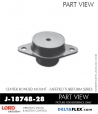 Rubber-Parts-Catalog-Delta-Flex-LORD-Corporation-Vibration-Control-Center-Bonded-Mounts-J-18748-28