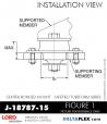 Rubber-Parts-Catalog-Delta-Flex-LORD-Corporation-Vibration-Control-Center-Bonded-Mounts-J-18787-15