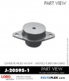 Rubber-Parts-Catalog-Delta-Flex-LORD-Corporation-Vibration-Control-Center-Bonded-Mounts-J-20595-1