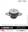 Rubber-Parts-Catalog-Delta-Flex-LORD-Corporation-Vibration-Control-Center-Bonded-Mounts-J-20595-12