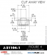 Rubber-Parts-Catalog-Delta-Flex-LORD-Corporation-Conical-Mount-J-21104-1