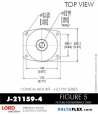 Rubber-Parts-Catalog-Delta-Flex-LORD-Corporation-Conical-Mount-J-21159-4
