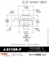 Rubber-Parts-Catalog-Delta-Flex-LORD-Corporation-Conical-Mount-J-21159-7