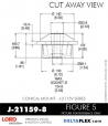 Rubber-Parts-Catalog-Delta-Flex-LORD-Corporation-Conical-Mount-J-21159-8