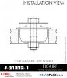 Rubber-Parts-Catalog-Delta-Flex-LORD-Corporation-Conical-Mount-J-21212-1