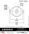 Rubber-Parts-Catalog-Delta-Flex-LORD-Corporation-Conical-Mount-J-21212-3