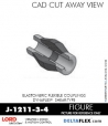 RUBBER-PARTS-CATALOG-DELTAFLEX-Vibration-Isolator-LORD-Dynaflex-Shear-Type-Couplings -Coupling-J-1211-3-4
