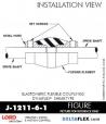 RUBBER-PARTS-CATALOG-DELTAFLEX-Vibration-Isolator-LORD-Dynaflex-Shear-Type-Couplings -Coupling-J-1211-6-1