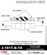 RUBBER-PARTS-CATALOG-DELTAFLEX-Vibration-Isolator-LORD-Dynaflex-Shear-Type-Couplings -Coupling-J-1211-6-12